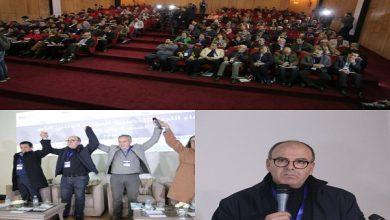 Photo of الشيخ بيد الله في طريق العودة إلى الأمانة العامة لحزب الأصالة و المعاصرة