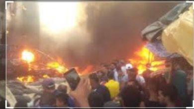 Photo of الشرطة تعتقل خمسة اشخاص تورطوا في شغب حريق بنذباب