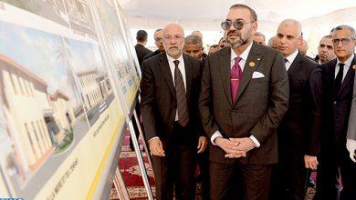 Photo of جلالة الملك يشرف على تدشين المركز الطبي بحي بسنودة فاس