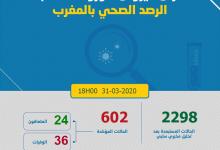 Photo of مستجدات كورونا: 68 حالة جديدة و العدد يرتفع إلى 602