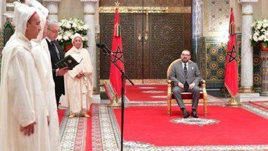Photo of جلالة الملك محمد السادس يستقبل الأعضاء الجدد للمجلس الدستوري