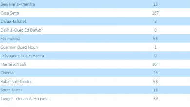 Photo of حصاد كورونا:تسجيل 6 إصابات جديدة بجهة فاس/مكناس في ليلة واحدة و الدارالبيضاء الاولى من عدد المصابين