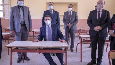 Photo of أمزازي وزير التعليم يواكب الاجراءات الوقائية لاجراء إمتحانات الباكلوريا في ظروف صحية