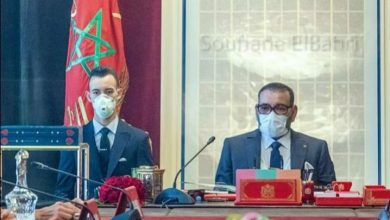 Photo of جلالة الملك يترأس المجلس الوزاري و اول اهتماماته الوضعية الوبائية بالمغرب
