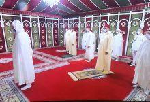 Photo of أمير المؤمنين يؤدي صلاة العيد و ينحر الاضحية
