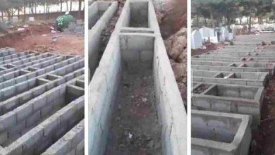 Photo of خطير: رئيس جماعة صفرو يرخص لبناء قبور بالاسمنت فوق الأرض و عامل الاقليم خارج التغطية