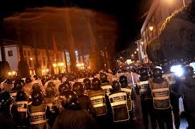 Photo of القوات العمومية تفض إعتصام الاساتذة امام وزارة امزازي