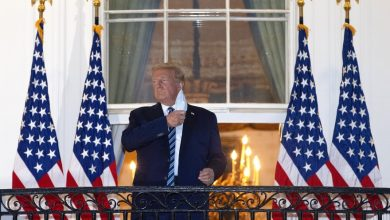 """Photo of بعد إصابته و مقتل أكثر من 200 ألف أمريكي """"ترامب"""" يدعوا مواطنين للخروج و مواجهة فيروس كروونا"""