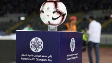 Photo of كأس محمد السادس لكرة القدم يجمع الرجاء البيضاوي و الاسماعلي المصري