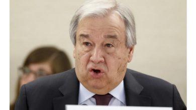 Photo of الامين العام للأمم المتحدة ياسف لفشل التضامن العالمي حول لقاح كورونا