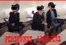 Photo of اعتقال تلاميذ رصدتهم الشرطة المعلوماتية و هم مدججين بالأسلحة داخل الفصل الدراسي