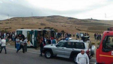 Photo of انقلاب حافلة لنقل المسافرين تخلف قتلى و جرحى