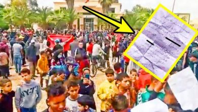 Photo of احتجاجات بسبب انتحار بائع متجول