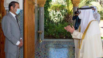 Photo of صاحب السمو الملكي الأمير مولاي رشيد يستقبل وزيرخارجية الكويت