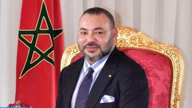 Photo of جلالة الملك يهنىء فريق الرجاء البيضاوي