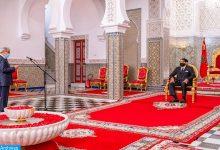 Photo of جلالة الملك يستقبل والي بنك المغرب