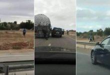 Photo of مطاردة هوليودية تسقط 16 الف قرص مخدر