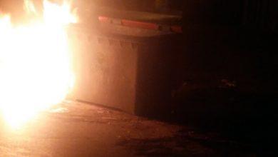"""Photo of """"الميخالة"""" تشن حملة إحراق حاويات النفايات بفاس"""