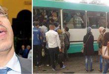 Photo of احتجاجات عارمة و شعارات برحيل الوزير الرباح بسب أزمة النقل الحضري