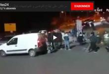 "Photo of أفارقة يشعلون المواجهات ليلة ""البوناني"" بمراكش"