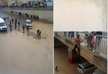 Photo of أمطار عاصفية  تغرق فاس وتفضح المشاريع المزورة و زيف شعارات  العمدة الازمي