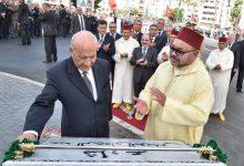 Photo of القيادي و زعيم الاشتراكيين و الوزير السابق و المناضل الكبير عبدالرحمان اليوسفي في ذمة الله