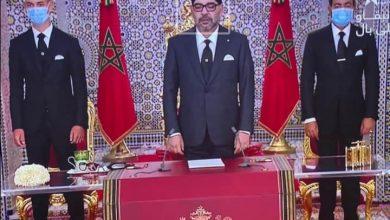 Photo of جلالة الملك يوجه خطاب العرش الى الشعب المغربي
