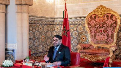 Photo of برقية عزاء من جلالة الملك محمد السادس الى افراد الطفل عدنان
