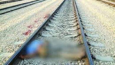 Photo of إنتحار شخص امام القطار و جثته تتحول الى أشلاء متطايرة