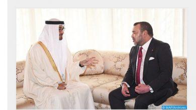 Photo of الإمارات تفتح قنصلية بقلب الصحراء المغربية و جلالة الملك يتباحث مع الأمير ال نهيان