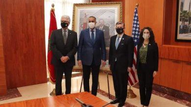 Photo of الحموشي يستقبل مساعد مستشار مجلس الامن القومي الامريكي