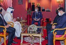 Photo of جلالة الملك يستقبل وزير خارجية الإمارات العربية المتحدة