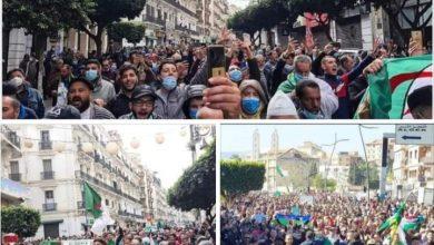"""Photo of جمعة الغضب بالجزائر و الشعب يطالب برحيل """"تبون"""" و التنديد بوقف """"القمع"""""""