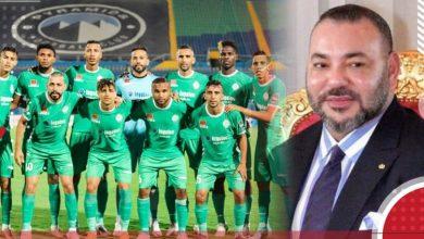 Photo of جلالة الملك يهنىء الرجاء البيضاوي لانتزاعه كأس العرب